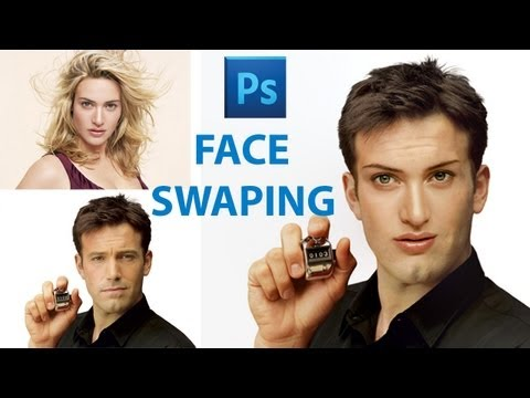 How To Swap Faces in Photoshop CS6- Photoshop Tutorial'][0].replace ...