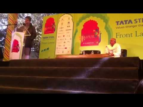 Prasoon Joshi at JLF