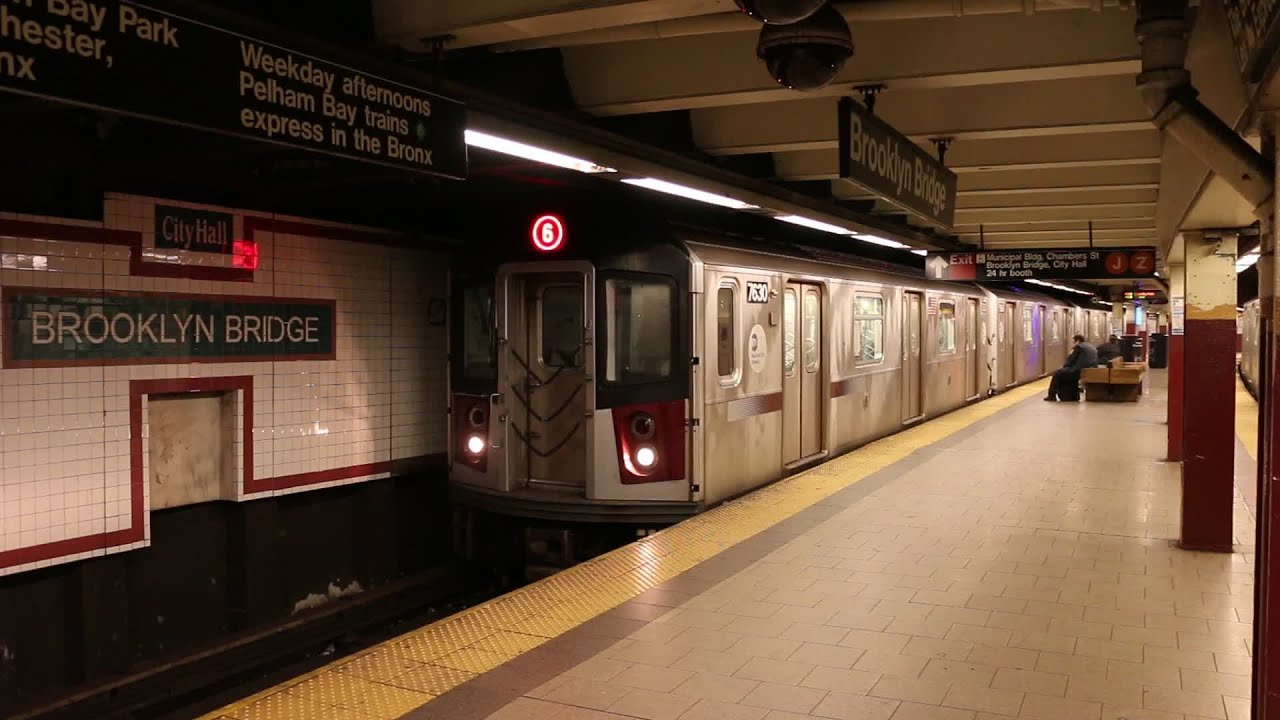 The New York City Subway in Manhattan - YouTube