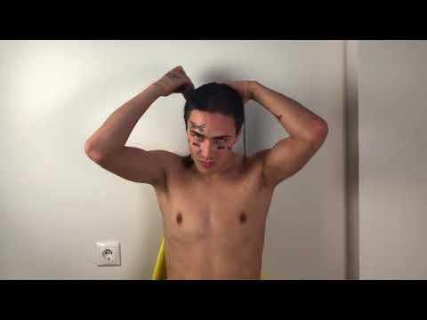FACE стрижется подстригся (кродеться)