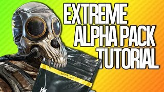 EXTREME ALPHA PACK TUTORIAL | Rainbow Six Siege
