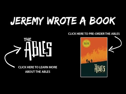 "I Wrote A Book - Preorder ""The Ables"" Today!"