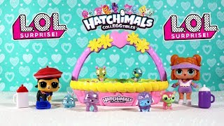 Abrimos una LOL Surprise Confetti Pop, una LOL Pet y varios huevitos Hatchimals