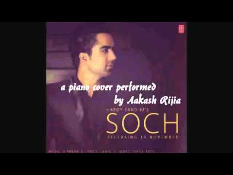 Soch Hardy Sandhu Piano instrumental
