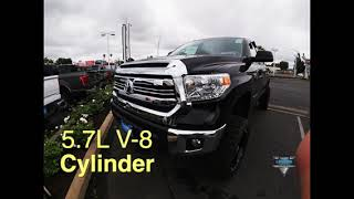 The LIFTED 2017 Toyota Tundra Limited Crew Max at Clawson Truck Center