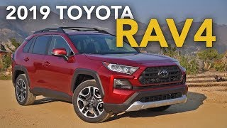 2019 Toyota RAV4 Review - First Drive