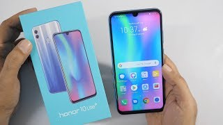 Honor 10 Lite with AI Camera Unboxing & Overview