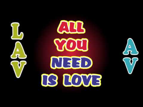 All You Need Is Love (Avicii Unreleased Song LAV Bootleg) [Official Audio]