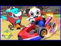 VTubers Combo Panda Vs. Big Gil Let's Play Mario Kart 8 Best Racing Game Ever