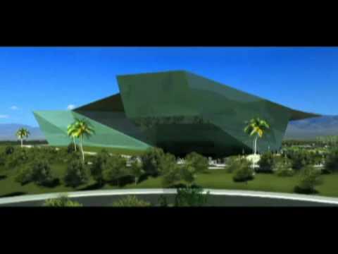 Render | Centro de Convenciones Isla San Marcos