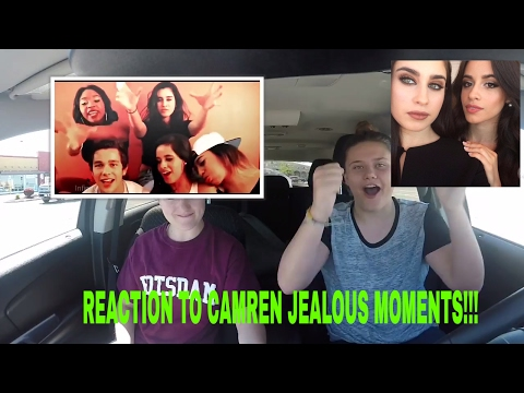 REACTION TO CAMREN JEALOUS MOMENTS!!!