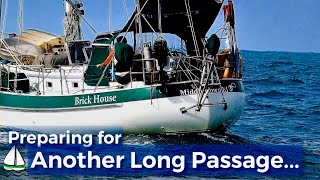 Bluewater Sailing-  Indian Ocean Sailing Preparations, Patrick  Childress Sailing #13