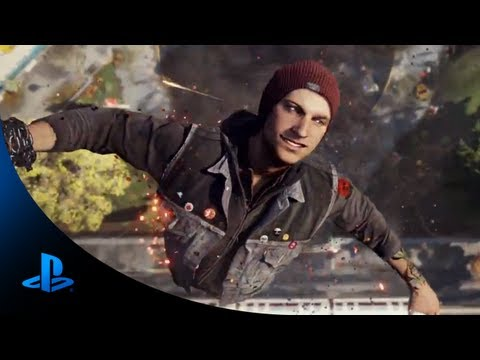 inFAMOUS Second Son E3 Trailer PS4 E3 2013