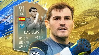 FIFA 19 Flashback Casillas Review - Usable or SBC Food? Fifa 19 Flashback Casillas Player Review