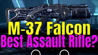 MASS EFFECT: ANDROMEDA - M-37 FALCON Assault Rifle Weapon Guide/Review | Multiplayer Gameplay