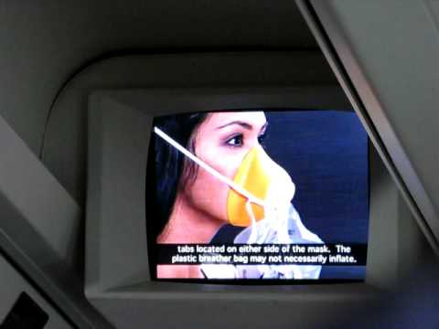 Hawaiian Airlines Boeing 767-300 Safety Video