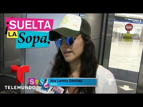 Suelta La Sopa | Ana Lorena Sánchez no se habla con su ex Julián Gil | Entretenimiento