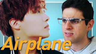 "J-HOPE ""Airplane"" M/V Reaction (Reacting to K-Pop for the First Time)"