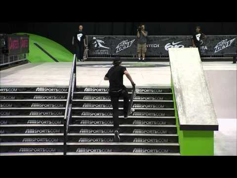 Dew Tour - Greg Lutzka Solo Run - Salt Lake City Skateboard Street Finals