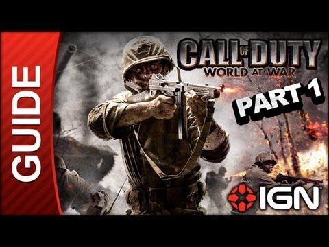 Call of Duty: World At War Walkthrough Part 1 - Semper Fi