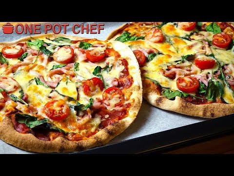 """""""No Dough"""" Make Your Own Pizza Party!   One Pot Chef"""