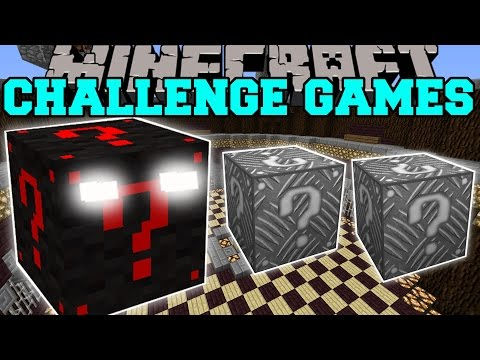 Jelly queen challenge games lucky block mod modded mini game video