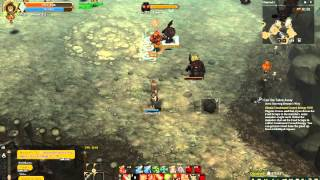 [Tree of savior] Ranger c3 full dex grinding at Starving Demon
