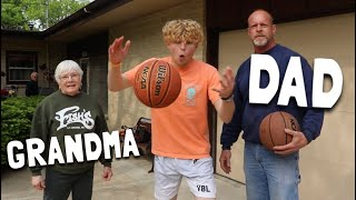 Game Of H.O.R.S.E VS. My GRANDMA!