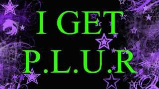 Blood On The Dancefloor P.L.U.R Lyrics On screen