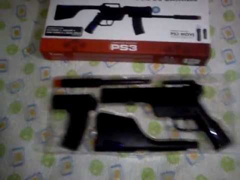 Unboxing Rifle de Batalla Ps Move PS3