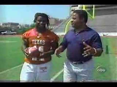 Earl Campbell & Ricky Williams 1997 interview Video