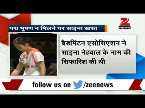 Saina Nehwal disappointed by Padma Bhushan snub