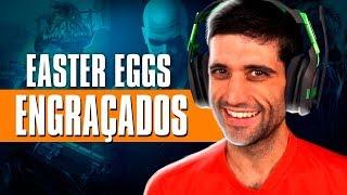Os EASTER EGGS mais ENGRAÇADOS dos VÍDEO GAMES