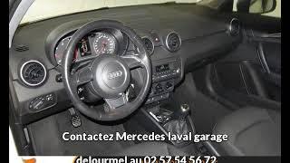 Audi a1 occasion visible à Bonchamp-les-laval présentée par Mercedes laval garage delourmel