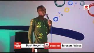 Nigerian standup comedian Obaro Tiblaze hilarious ,spontaneous performance