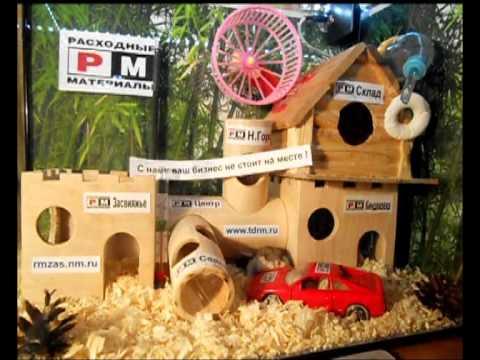 Как сделать домик хомяку из подручных материалов