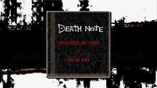 Death Note Kira Game: Explicación del juego [Rol de Kira]