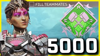 Intense 5000 Damage Rampart No-Fill Squads Game, But Can I Finally Get 20 Elims? - Apex Legends