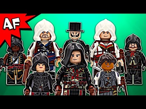 Custom Lego ASSASSIN'S CREED Minifigures Collection