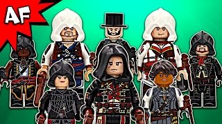 Custom Lego ASSASSIN'S CREED Minifigures Collection with Movie Comparisons