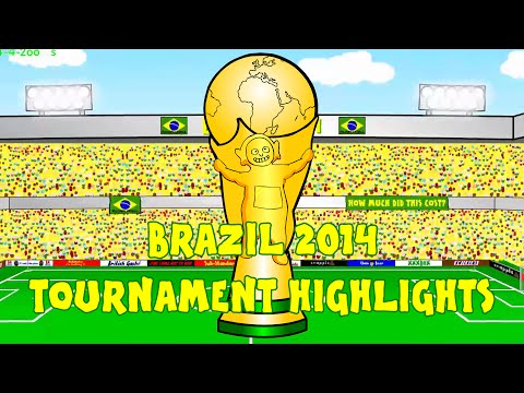 🇧🇷WORLD CUP 2014 HIGHLIGHTS🇧🇷 by 442oons (Brazil 2014 World Cup Review Compilation Clips)