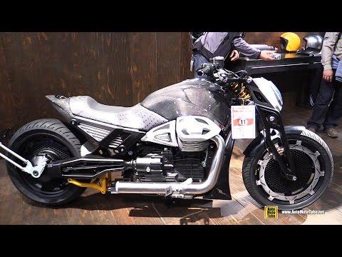 2015 Moto Guzzi California customized by Walter Tosto - Walkaround - 2015 EICMA Milan