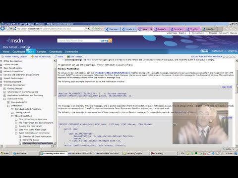 DirectShow Programming 21