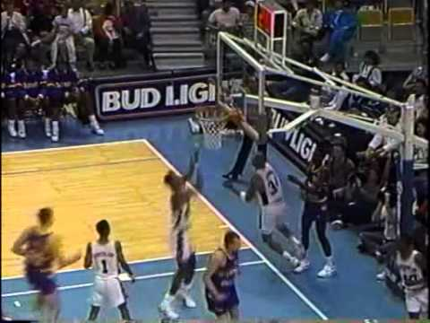 David Robinson 12 Dunks in a Game