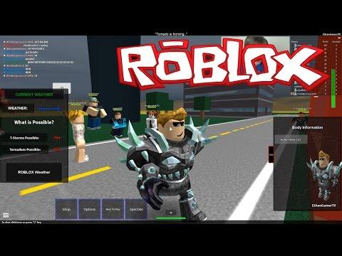 Playing Roblox: Tornado Alley 2 (KID GAMING)