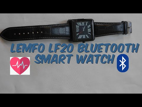 LEMFO LF20 MTK2502 Heart Rate Monitor SmartWatch for iPhone Android Phone | Watch With Class