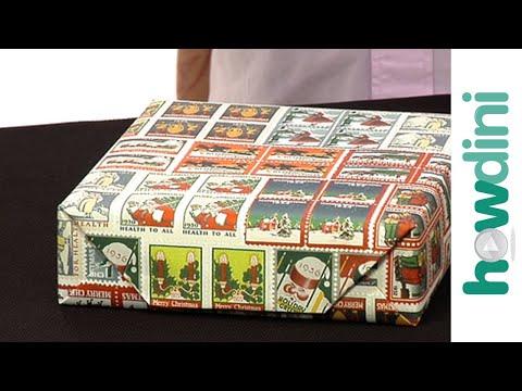 Hogyan csomagoljunk be egy ajándékdobozt - How to wrap a gift box