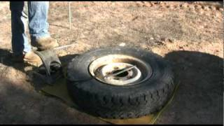LANDROVER OFFROAD WHEEL AND TYRE CHANGE PT3