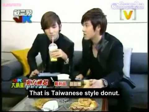 [ENG SUB] TVXQ on Channel [V] Taiwan JK Star Interview Part 2