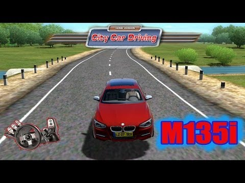 City Car Driving - BMW M135i e sonho do 1º carro! G27